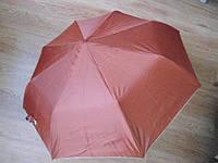 Зонт зонтик полуавтомат женский изнутри серебристый