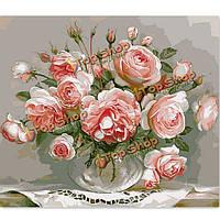 Номера комплект для поделок картины маслом цветка бескаркасных живописи цифровой рисунок домашнего кафе декора стены подарок 40x50cm