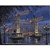 Поделки картина маслом по номерам лондон мост цифровые комплекты масляной живописи бескаркасных холст домашнего декора стены 40x50cm