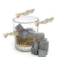 Потягивая виски охлаждать камни камни камни вино чай кофе набор 8