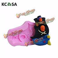 KCASA™ силикона пиратский корабль помадная плесень 3D шоколадный Cake силиконовые формы помадная Плесень, фото 1