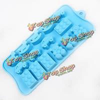 Украшать форму конфеты льда сдобы силикона лотка прессформы