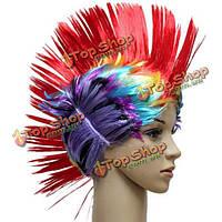 Танцевальная вечеринка Хэллоуин поддельные гребень цвет волос