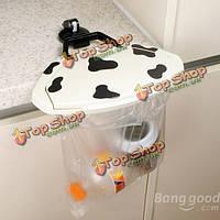 Удобная съемная присоска висит шкаф мешка хлама мусора бункеры