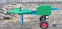 Реечный дровокол Артмаш 220 В., мощность двигателя 2.2 кВт.