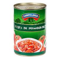 Різані помідори у власному соці Campo Largo, 400г