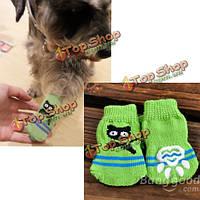 Носки собаки кошки мало вязания антипромаха образца кошки ткут теплые любимые носки