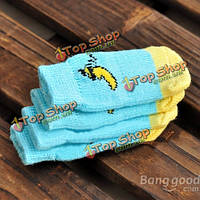 Носки собаки кошки милый банановый образец анти-нижние хлопчатобумажные носки домашнего животного блока промаха