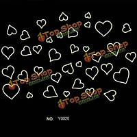 Любовь сердца светящиеся флуоресцентные обои мультфильм стикер стены