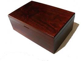 Дерев'яний елегантний бокс на 11 планшетів