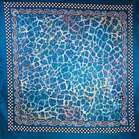 Женский атласный платок 91 на 91 EYFEL (ЭЙФЕЛЬ) SAT15198