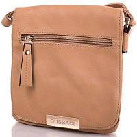 Женская сумка-клатч из качественного кожезаменителя GUSSACI (ГУССАЧИ) TUGUS13H098-1-12-1