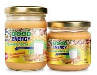 """Горіхова паста з медом(250гр) ТМ """"Good Energy"""""""