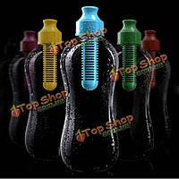 Большого размера Фильтр из активированного угля колбу самостоятельная фильтрация воды бутылки