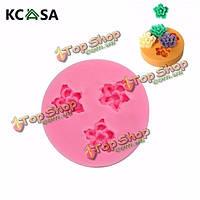 KCASA™ f0049 силиконовой смолы цветок формы шоколада мыло ручной работы формы