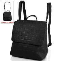 Сумка-рюкзак женская из качественного кожезаменителя ANNA&LI (АННА И ЛИ) TUP14471-2