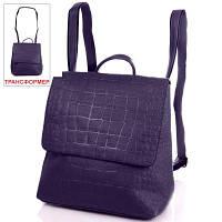 Сумка-рюкзак женская из качественного кожезаменителя ANNA&LI (АННА И ЛИ) TUP14471-6