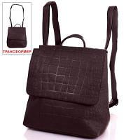 Сумка-рюкзак женская из качественного кожезаменителя ANNA&LI (АННА И ЛИ) TUP14471-10