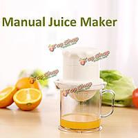 Руководство домашнее сок производитель мини DIY оранжевый лимон фрукты соковыжималка инструмент кухни