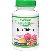 Organika, Milk Thistle, 250 mg, 90 Veggie Caps
