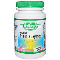 Organika, Plant Enzymes, 120 Veggie Caps