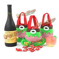 Рождественские конфеты мешок подарка украшение эльф брюки украшения поставок