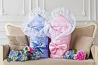 Конверт-одеяло для новорожденного на овчине