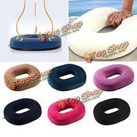 Пончик подушки беременность пены памяти сиденья кресло автомобиля Office Home мягкие подушки обратно
