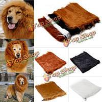 Грива Льва парик для собаки 80см