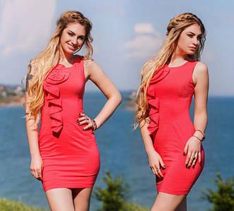 Стильное платье женское в расцветках (DG-р275)