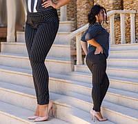 Элегантные штаны - леггинсы в полоску (DG-с1218)