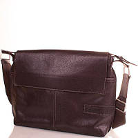 Сумка-почтальонка (мессенджер) ETERNO Кожаная мужская сумка-почтальонка ETERNO (ЭТЭРНО) ERM508BR