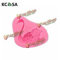 KCASA™ 3D силиконовые формы Swan помадная пресс-форма для конфет Шоколадный торт