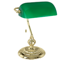 Настольная лампа BANKER / 1 60W E27 Eglo
