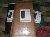 Комплект для обивки дверей 1х2,05м темно-коричневый гладкий