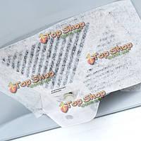 6шт дыма ламповая сажа машина экрана фильтровальная бумага кухня масло поглощая бумага