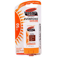 SALE, Palmer's, Cocoa Butter Formula, Eventone Suncare, Sunscreen Stick, SPF 50, .5 oz (14 g)