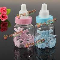 Младенца коробка конфет бутылка душ крещения партия выступает за крестины подарок