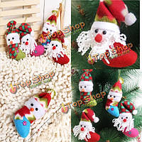 Санта-Клаус Снеговик носок стиль украшения елки