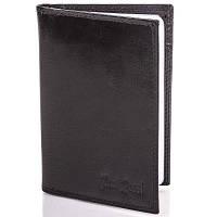 Мужской кожаный органайзер для документов с отделениями для пластиковых карт и визиток PAUL ROSSI (ПОЛ РОССИ) DNK719-GP-black