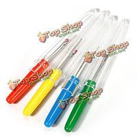 Небольшая пластиковая ручка шов риппер unpicker стежка швейные Craft инструмент