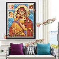 25x30см 5D DIY алмазов картина религия культура стразы вышивка крестом набор украшение дома