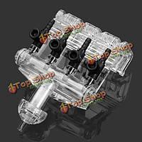 Аквариум четырех способов Фильтр воздушный обратный клапан для аквариума
