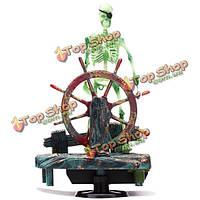 Оформление аквариума действий небом украшения аквариума скелет на колеса
