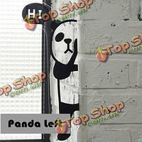 Мило панда лев примечание сообщение ремешок доска объявлений стикеров стены отображения экрана сторону