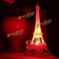 Эйфелевая башня с разноцветной подсветкой LED 25.5см