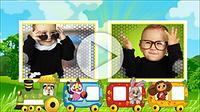 Шаблоны «Красочное детское слайд-шоу»