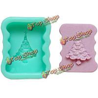 Рождественская елка формы шоколадный торт мыло mold фондант сахар плесень
