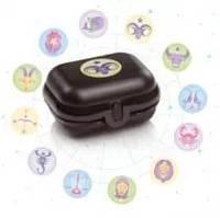 Ланч-бокс для детей и взрослых -Знак зодиака Весы(11см*9 см*5,5см )Tupperware