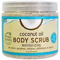 Petal Fresh, Coconut Oil Body Scrub Moisturizing, 16 oz (473 ml)